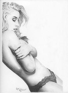 Sexy Girl Leaning against the wall MLGlenn Fine Art