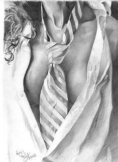 Sexy Girl Tie MLGlenn Fine Art