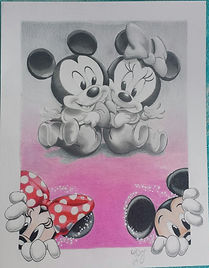 Mickey Mouse Minnie Mouse geewiz