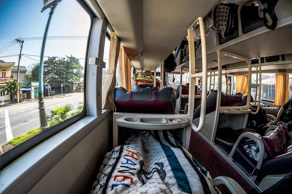 Bus couchette Vietnam