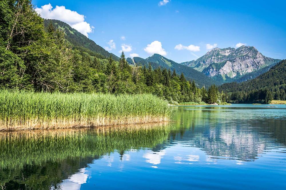 Lac de Vallon Alpes du Léman