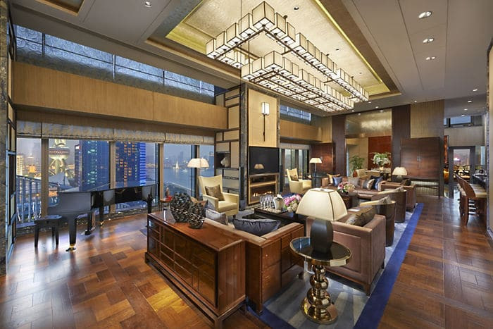 Suite présidentielle Mandarin Oriental Shanghai