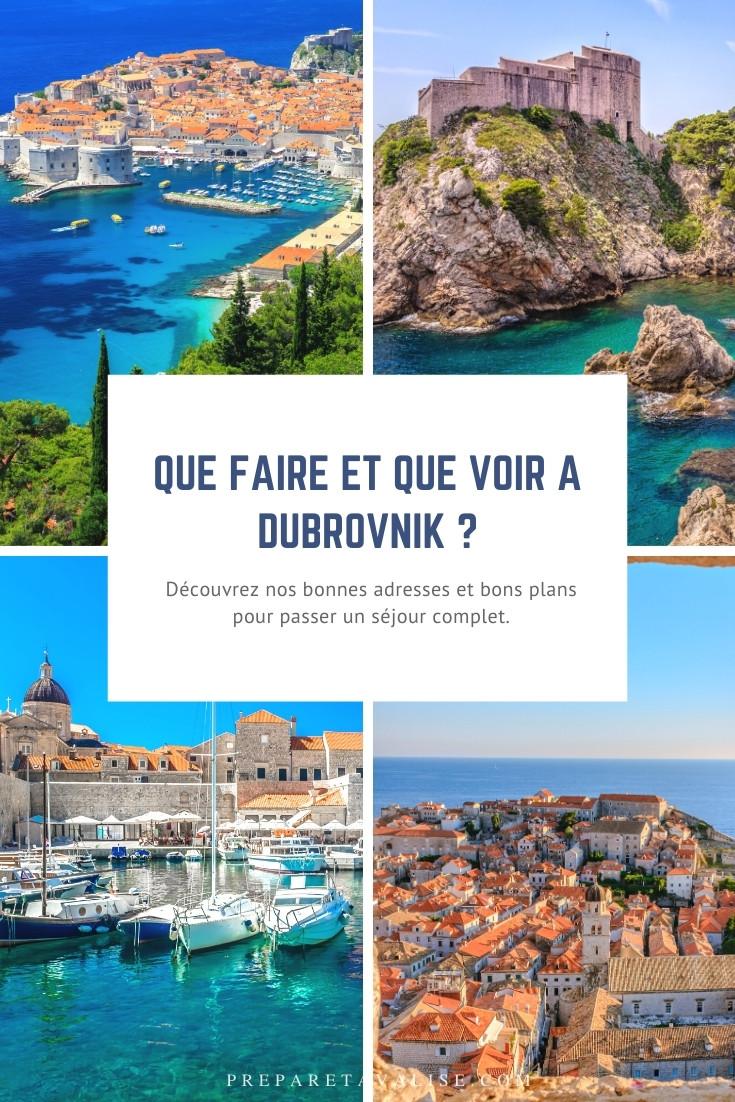Que faire à Dubrovnik