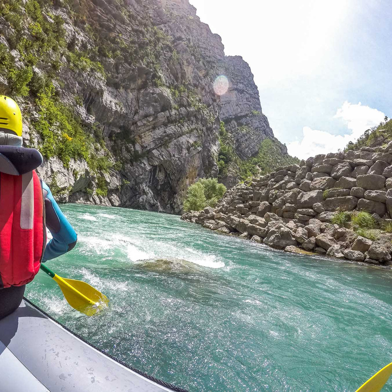 Rafting Gorges du Verdon