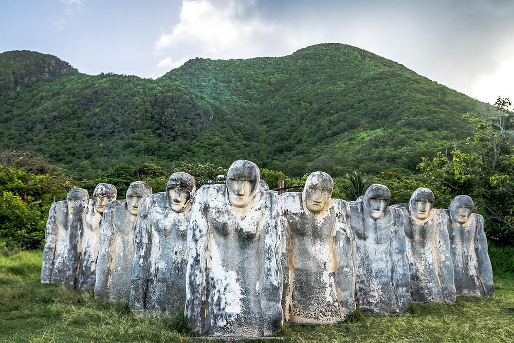 Statues Cap 110, Martinique