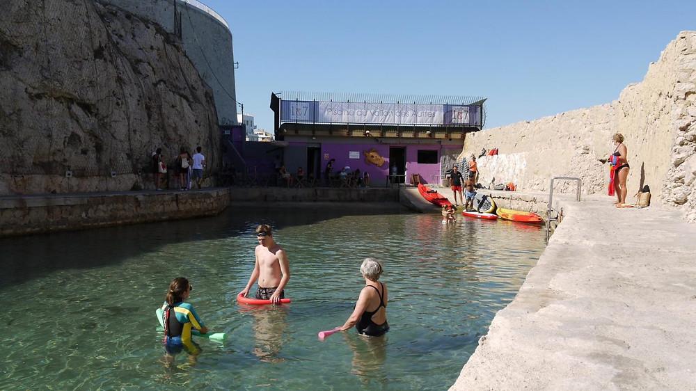 La Plage du Vallon des Auffes Marseille