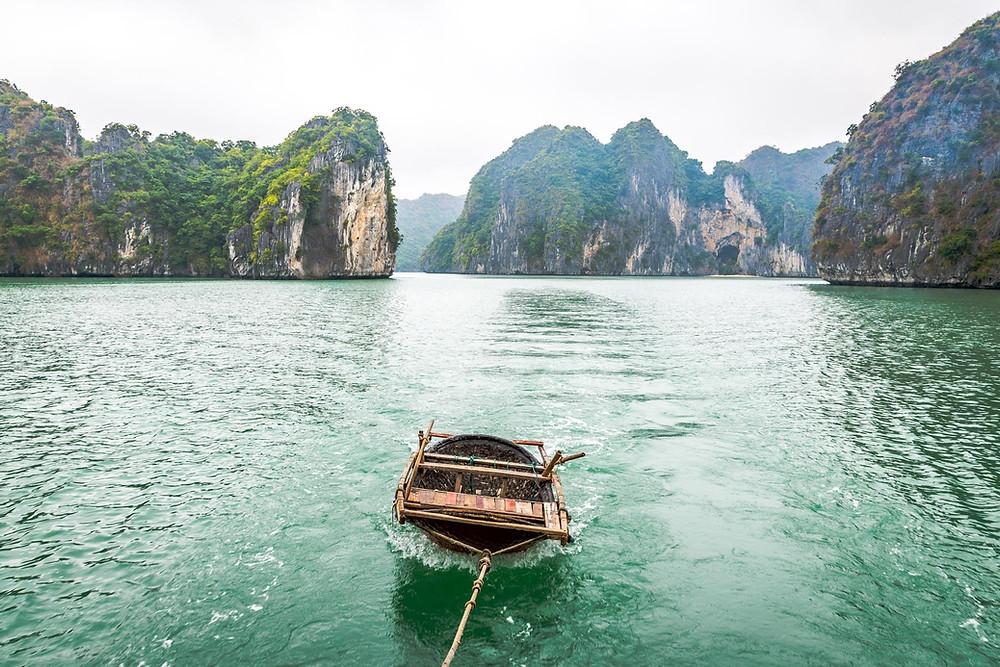 La Baie de Lan Ha croisière sans touristes Vietnam