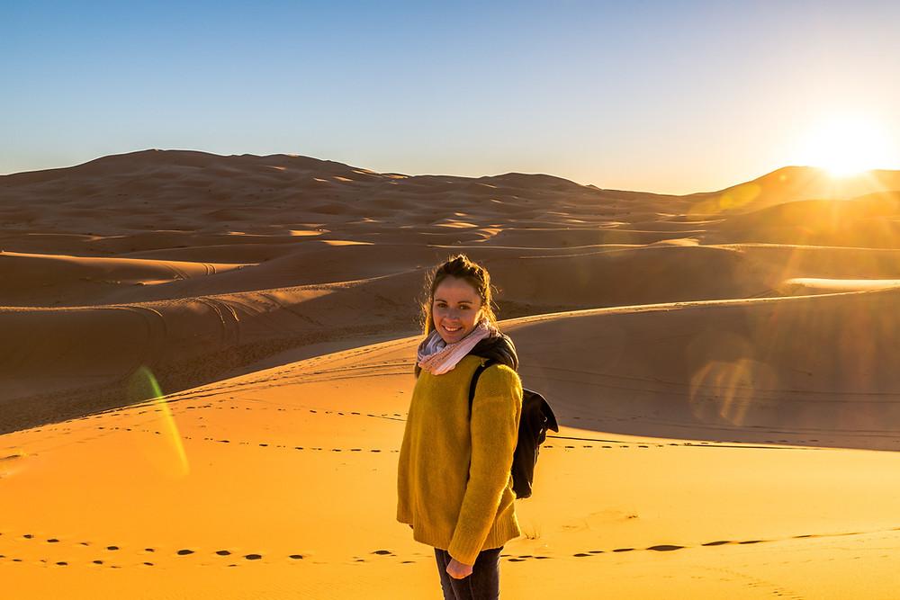 Désert de Merzouga, Sahara, Maroc