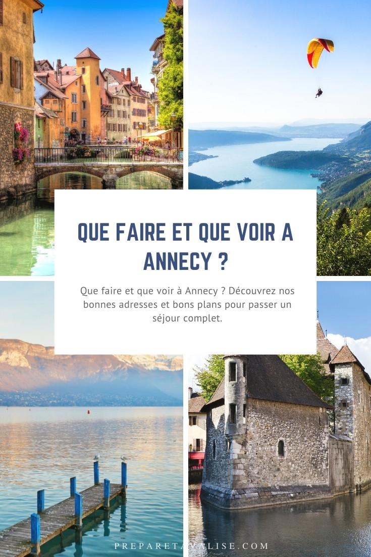 Que faire à Annecy