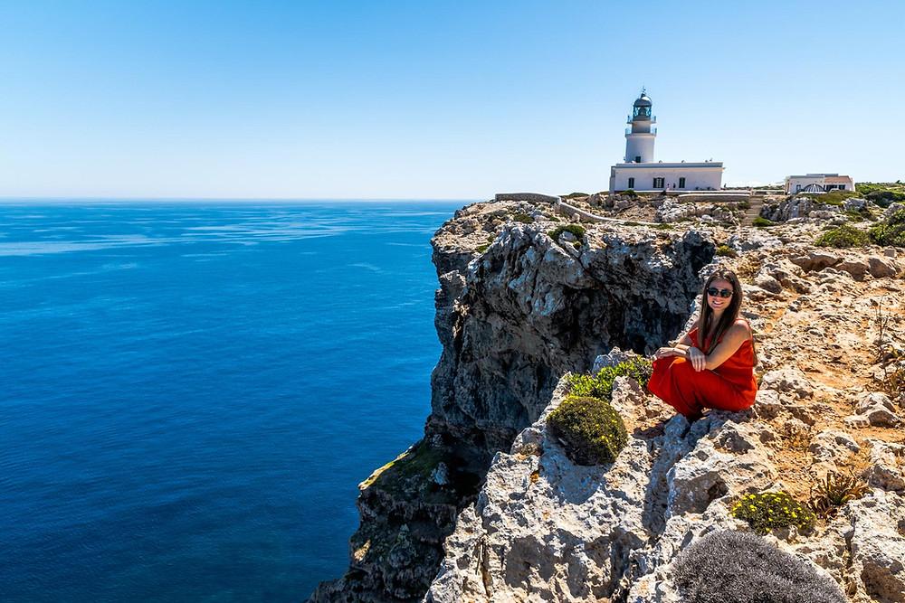 Phare de Cavalleria Minorque iles baléares Espagne