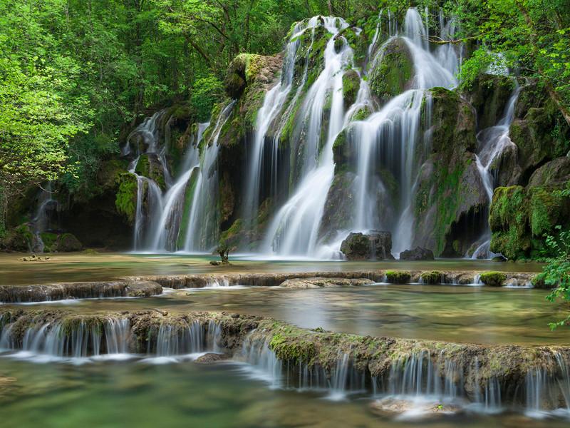 La cascade des Tufs Jura