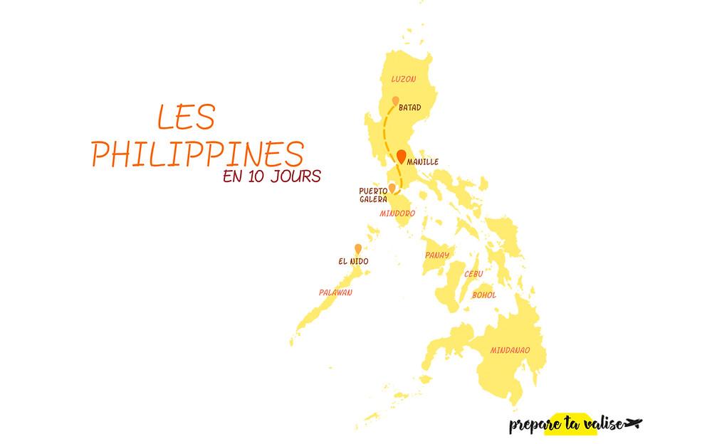 Itinéraire de 10 jours aux Philippines : les erreurs à éviter