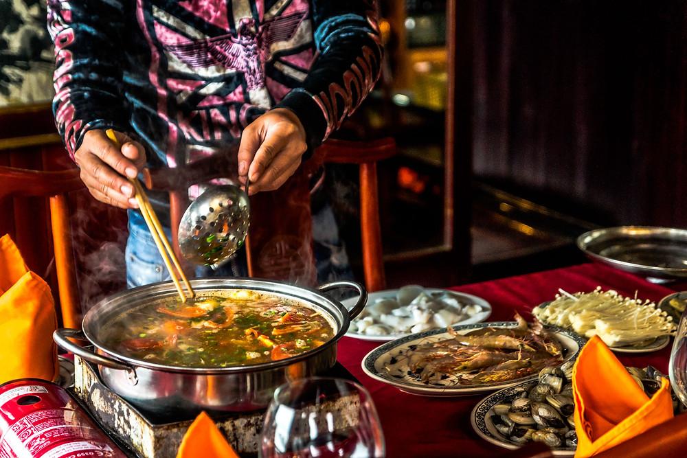 Le Lau fondue vietnammienne plat du vietnam