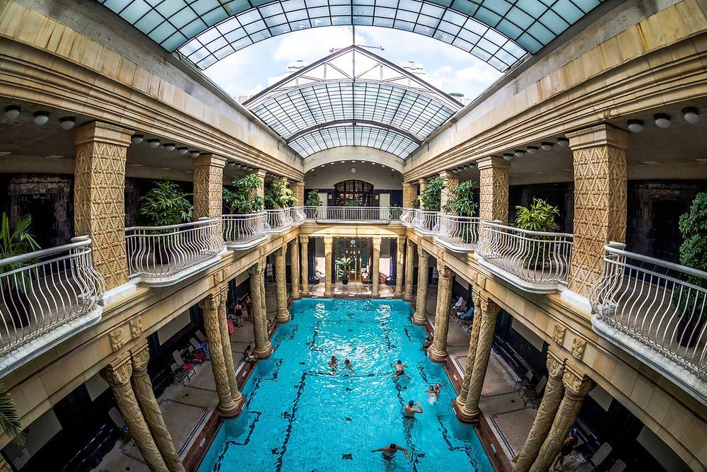 Bains Gellért, Budapest