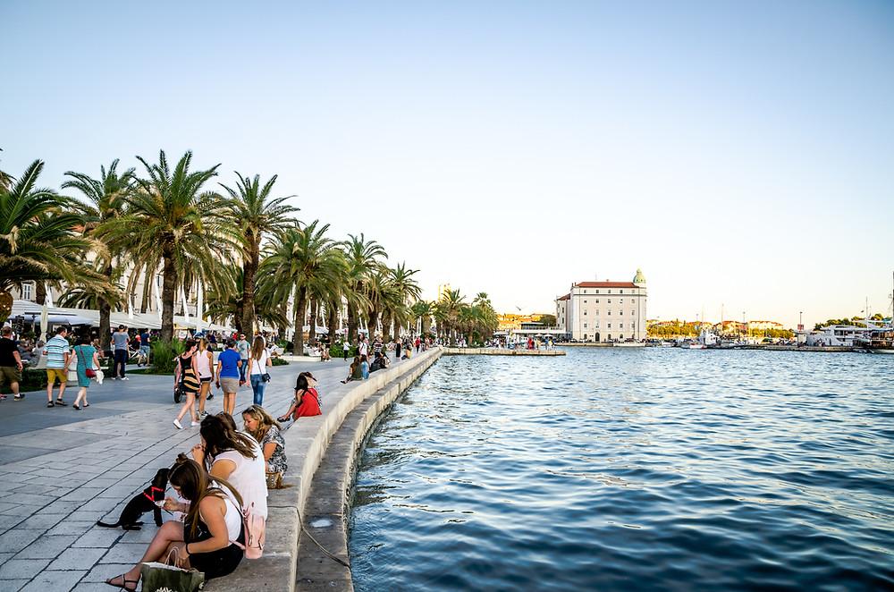 Promenade Riva Split
