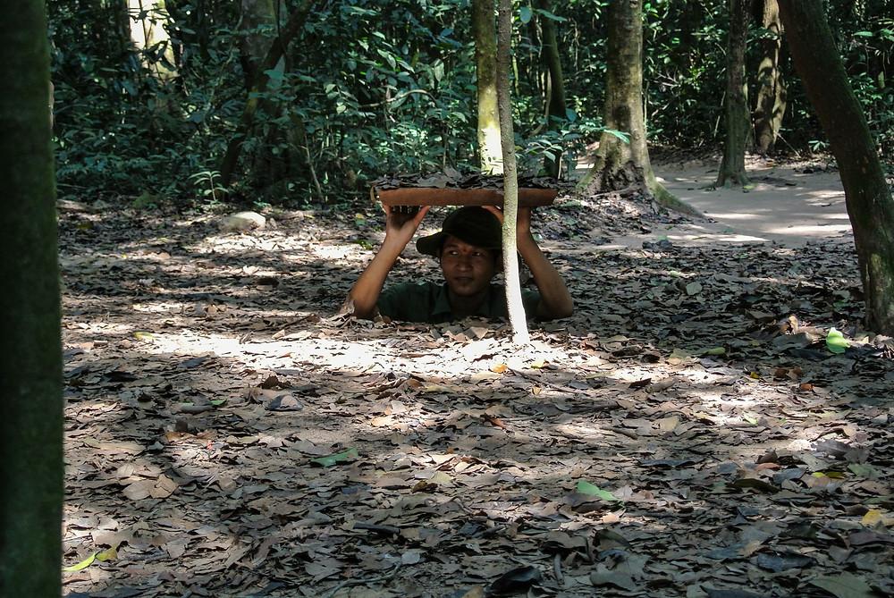 Les tunnels de Cu Chi, incontournable au Vietnam