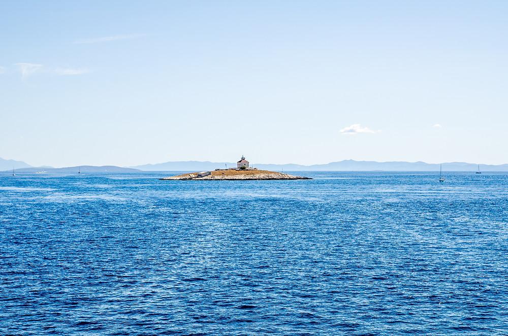 Bateau en Croatie
