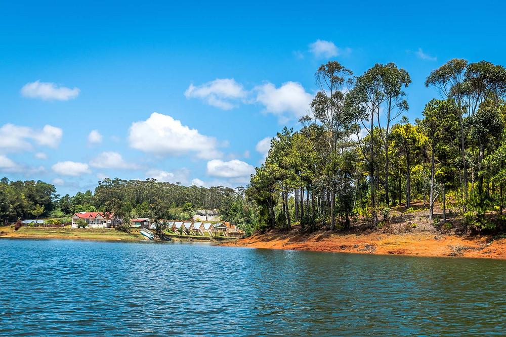 Lac de Mantasoa, Madagascar