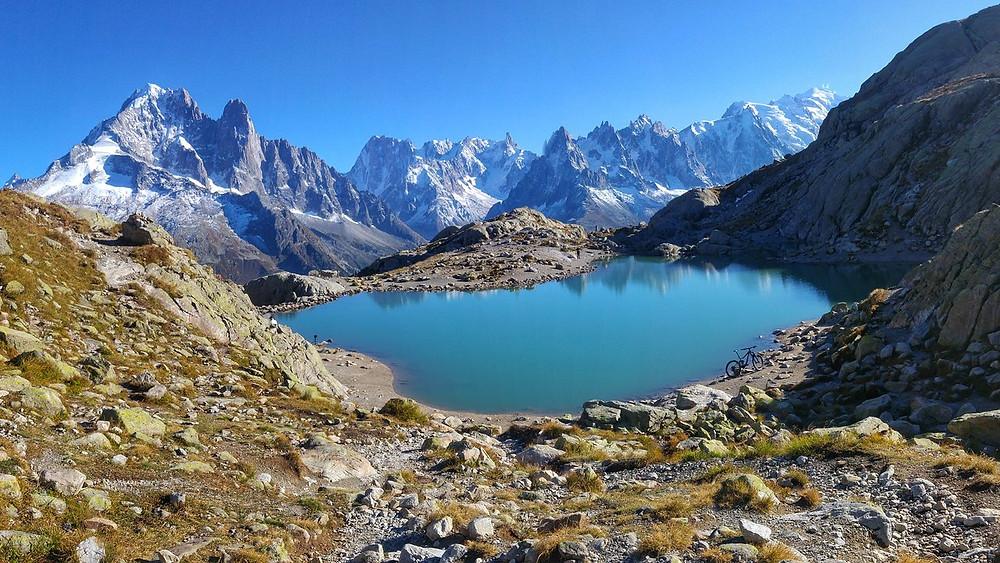 Lac Blanc Chamonix Mont Blanc