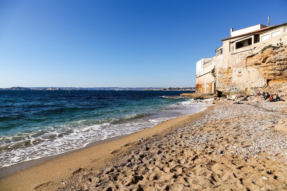 La Plage Colombet et la Plage des Phocéens Marseille