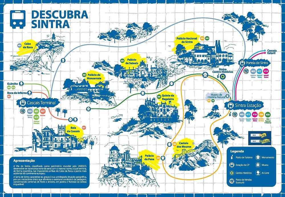 Carte Sintra
