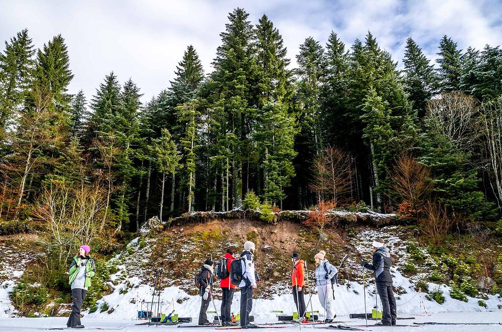 Sens à sons nature biathlon Gérardmer Massif des Vosges