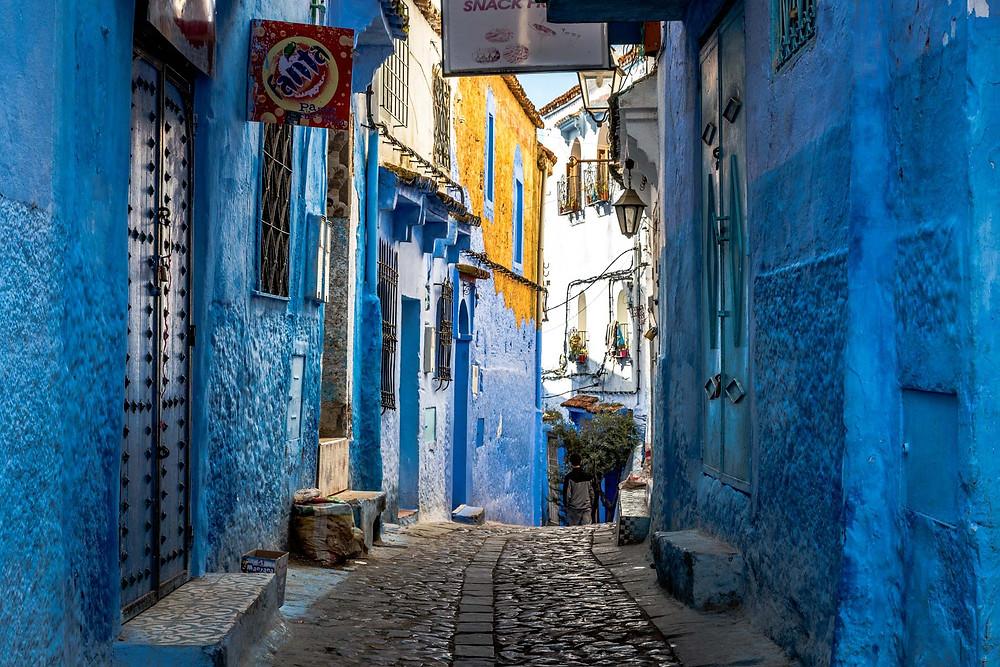 Chefchaouen, ville bleue, Maroc