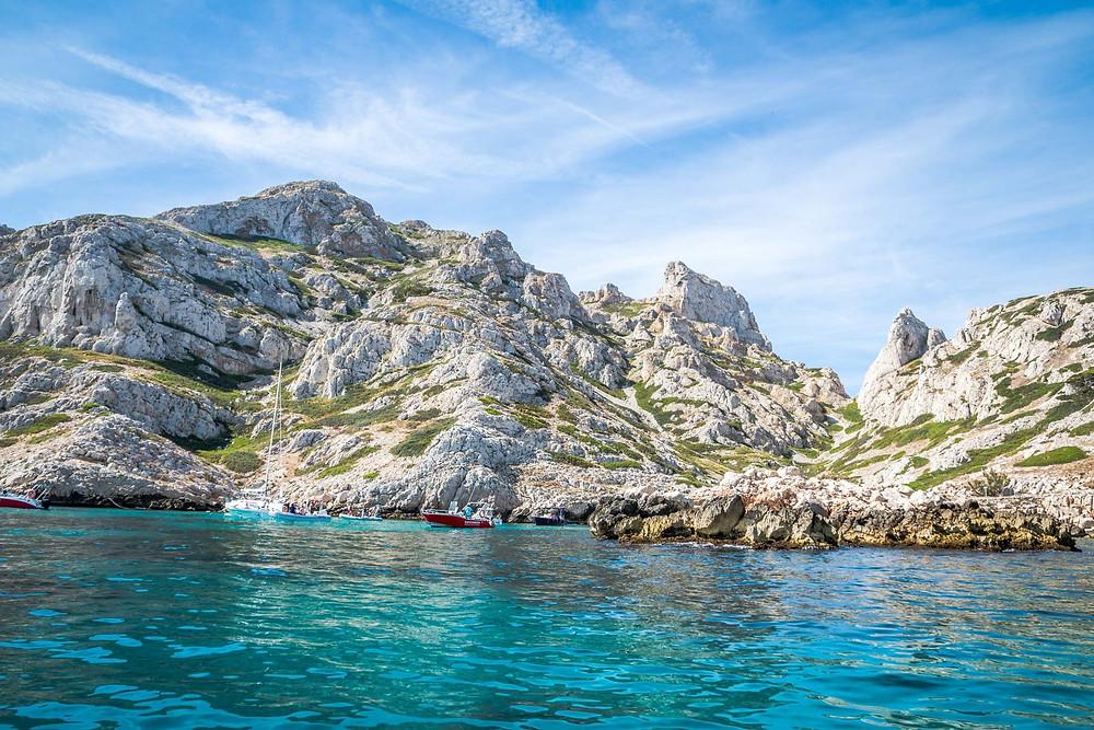Bateau calanques de Marseille Bleu Evasion