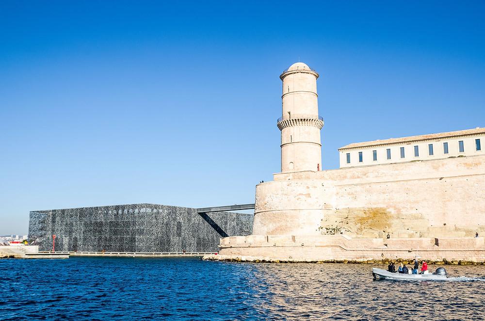 Fort Saint Jean Mucem Marseille