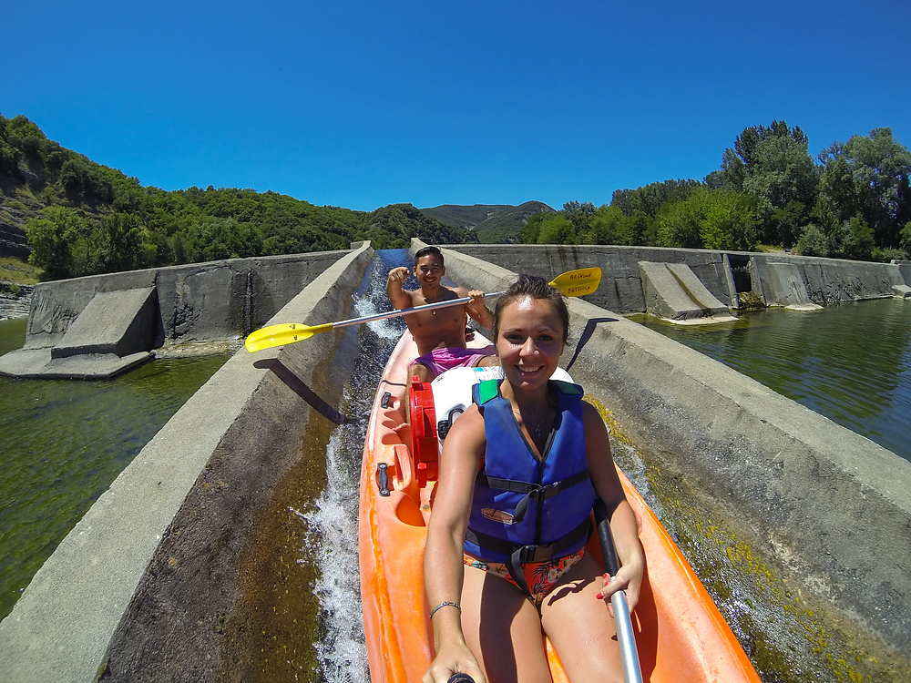Kayak en Ardèche