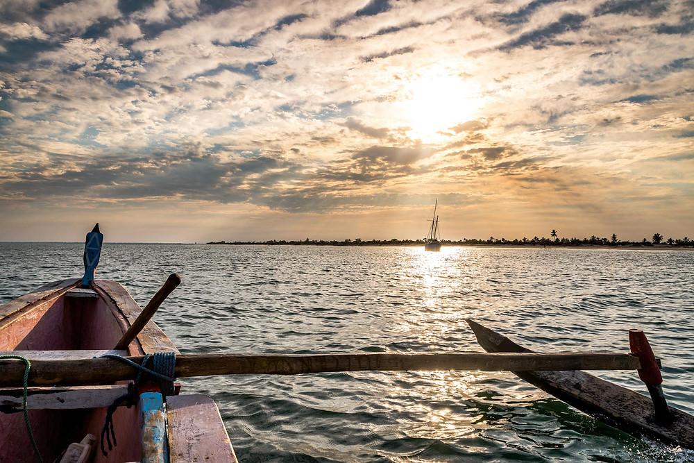 Pirogue à Madagascar