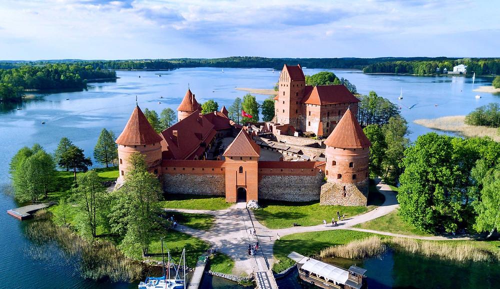 Château de l'île de Trakai