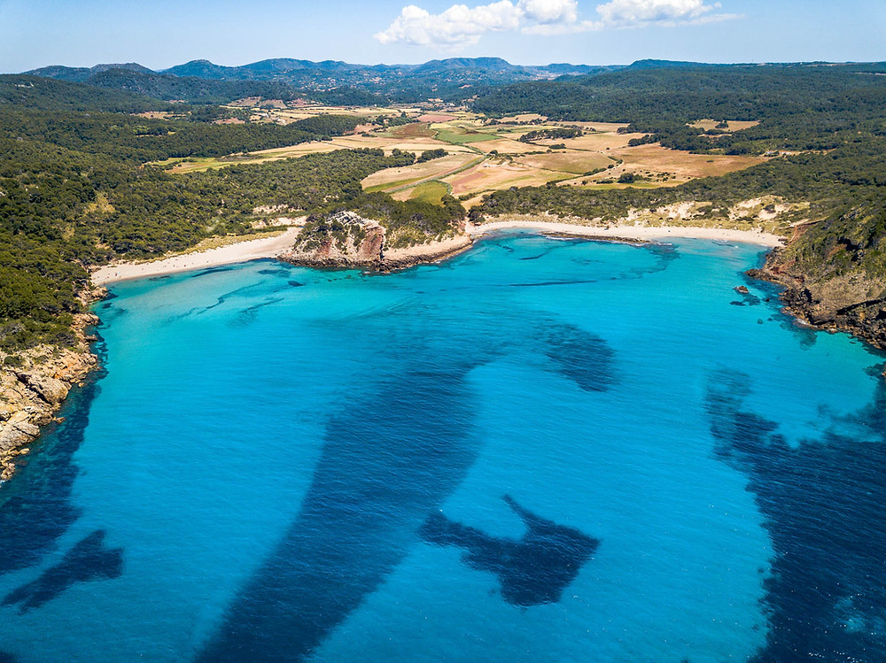 Cala d'Algariens Minorque iles baléares Espagne