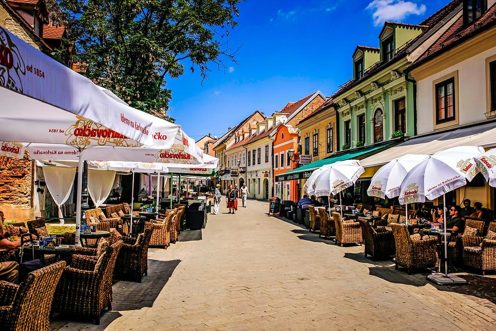Rue Tkalčićeva Zagreb