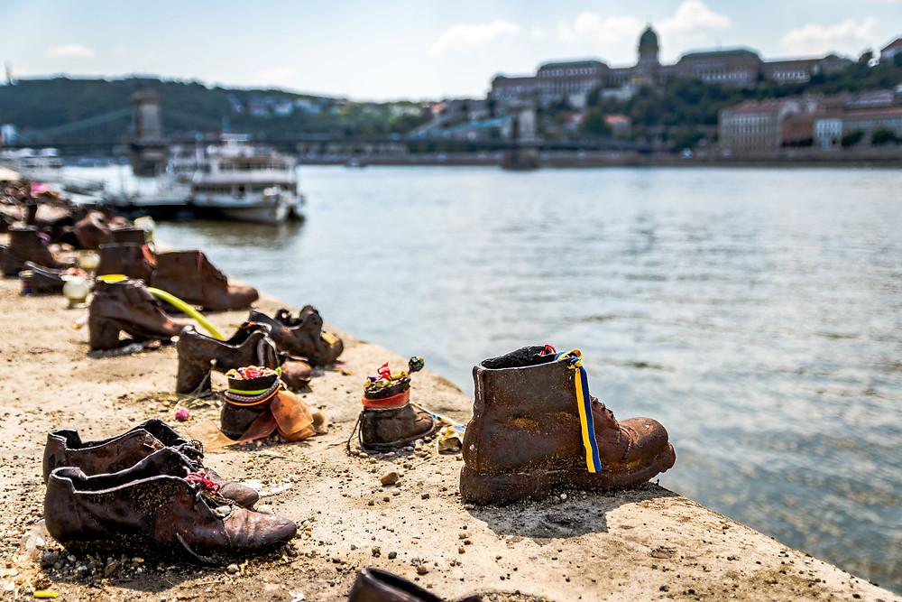 Chaussures au bord du Danube, Budapest