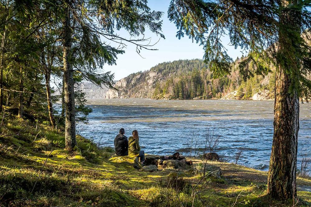 Lac de Vättern, Suède