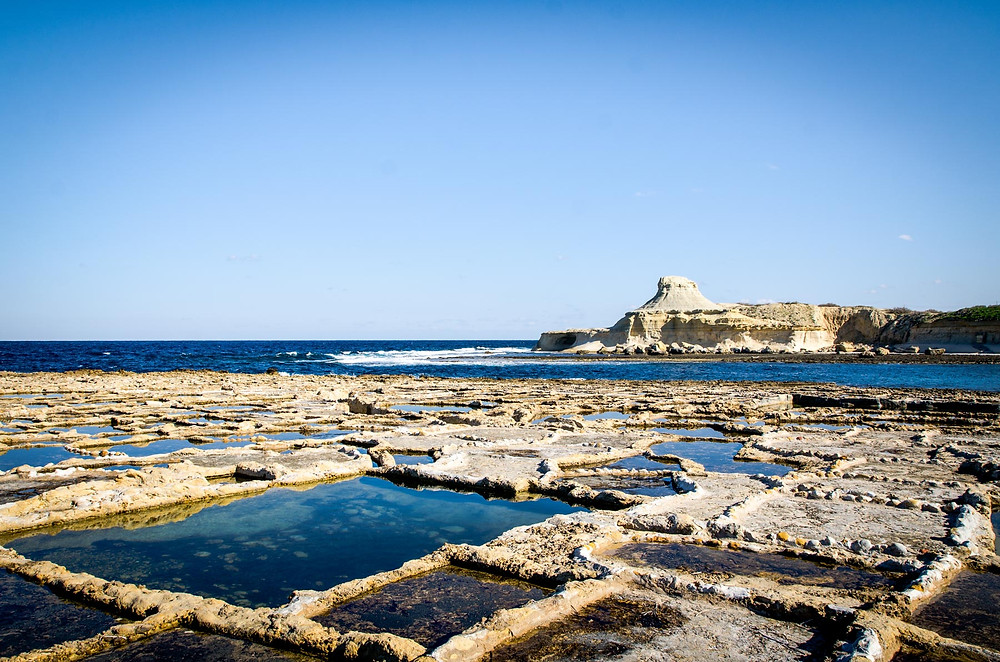 Salines Romaines, Reqqa Point, Malta, Malte