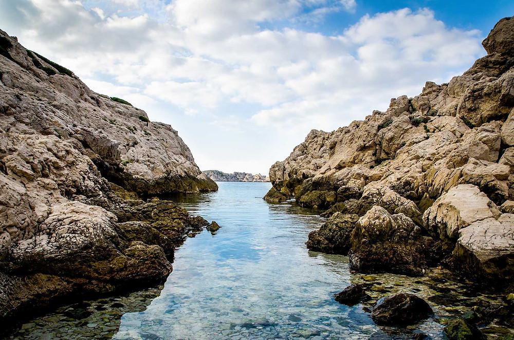 Calanques de Mounine Marseille