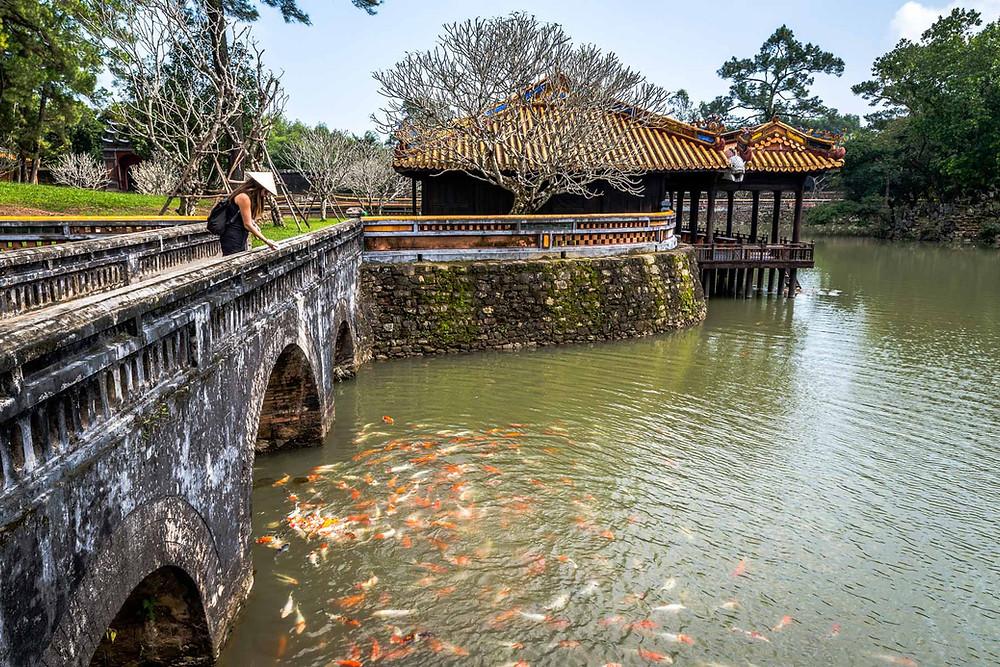Tombeau de Minh Mang Hue Vietnam