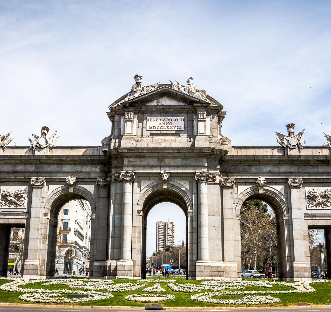 Puerta de Alcalà Madrid