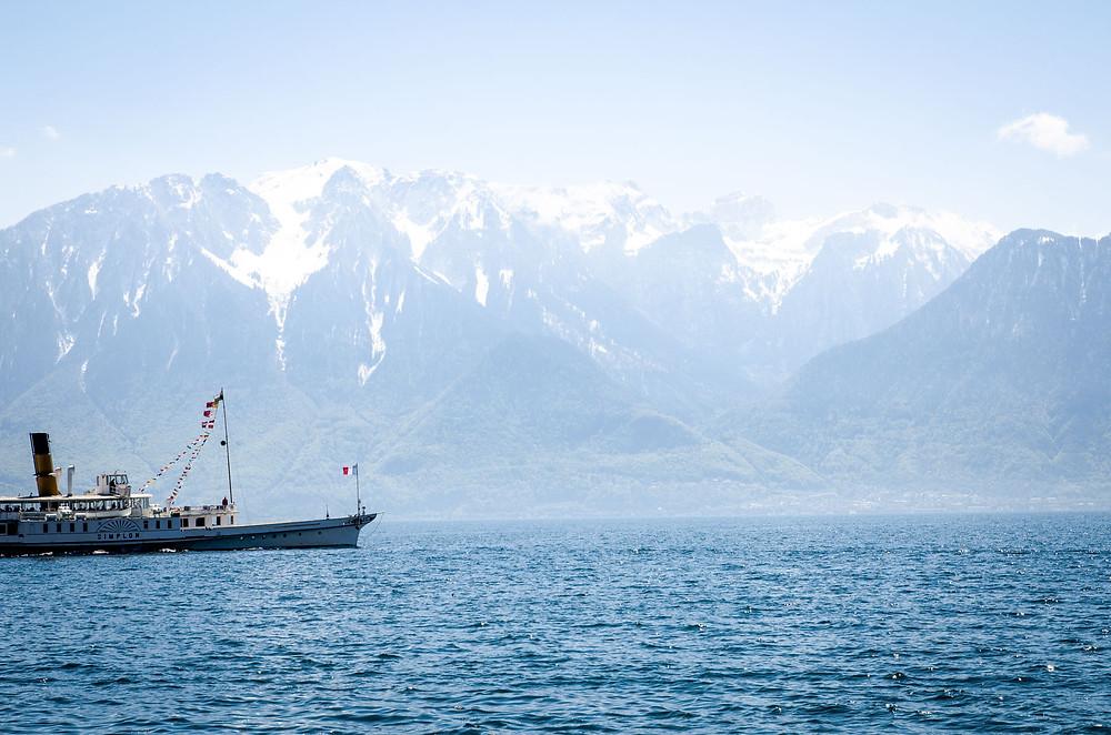 Croisière CGN Lac Leman Suisse