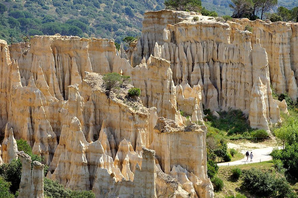 Les Orgues de l'Ile sur Têt Pyrénées Orientales