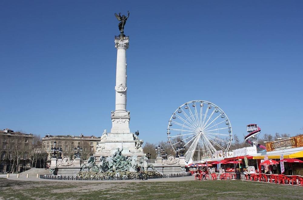 Place des Quinconces Bordeaux