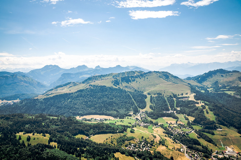 Vol en planeur Alpes du Léman