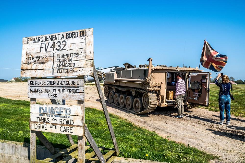 Normandy Victory Museum, bâpteme de char