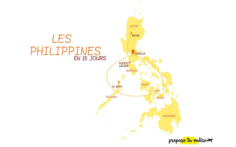 Itinéraire de 15 jours aux Philippines