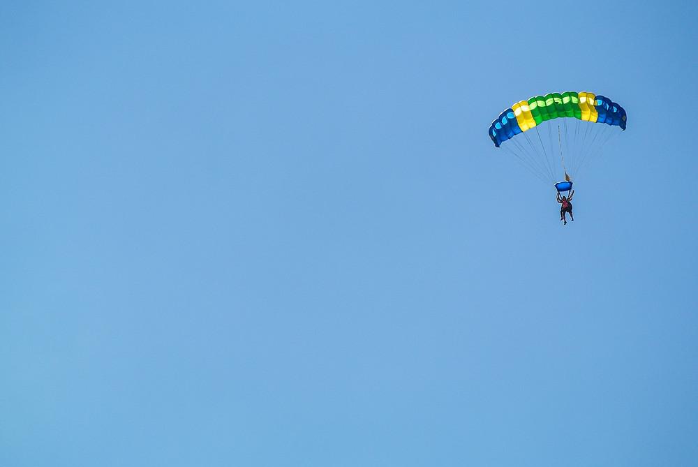 Saut en parachute, Gap Tallard