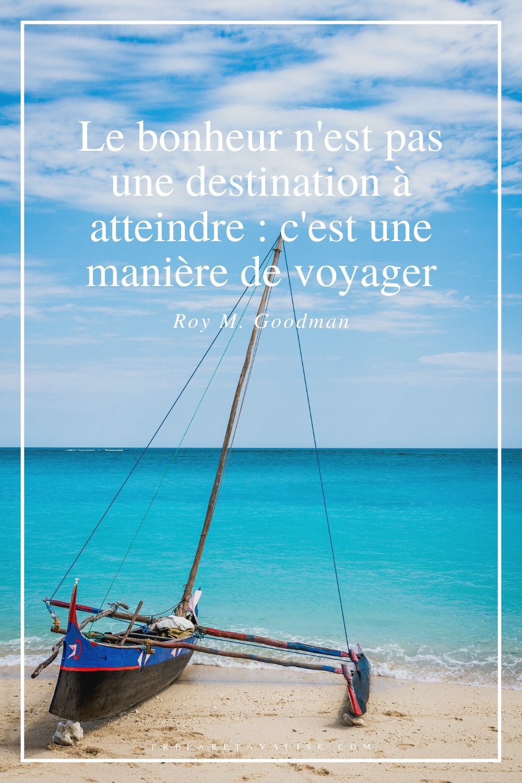 Citation de voyage