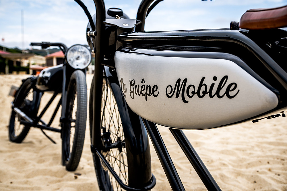 Moto La Guêpe Mobile St Tropez