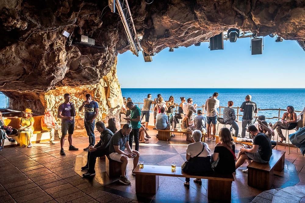 Cova d'en Xoroi Minorque iles baléares Espagne